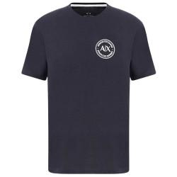 T-shirt bleu marine Armani Exchange logo