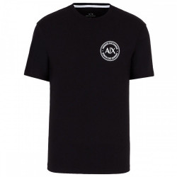 Tee-shirt noir Armani Exchange logo