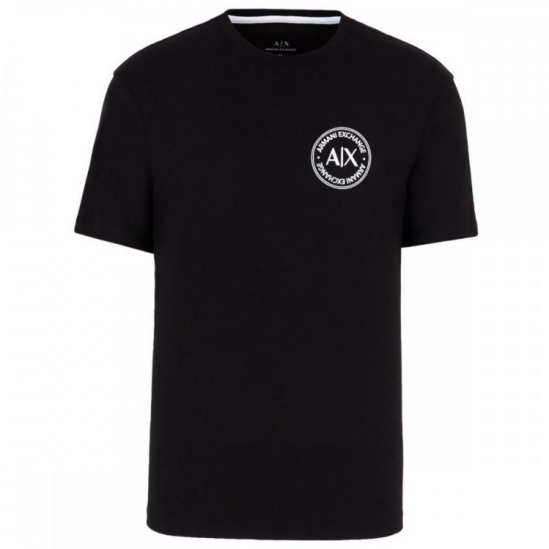 Tee-shirt noir Armani Exchange logo