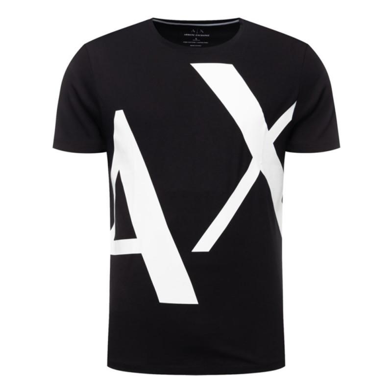 Tee-shirt imprimé Armani Exchange Noir