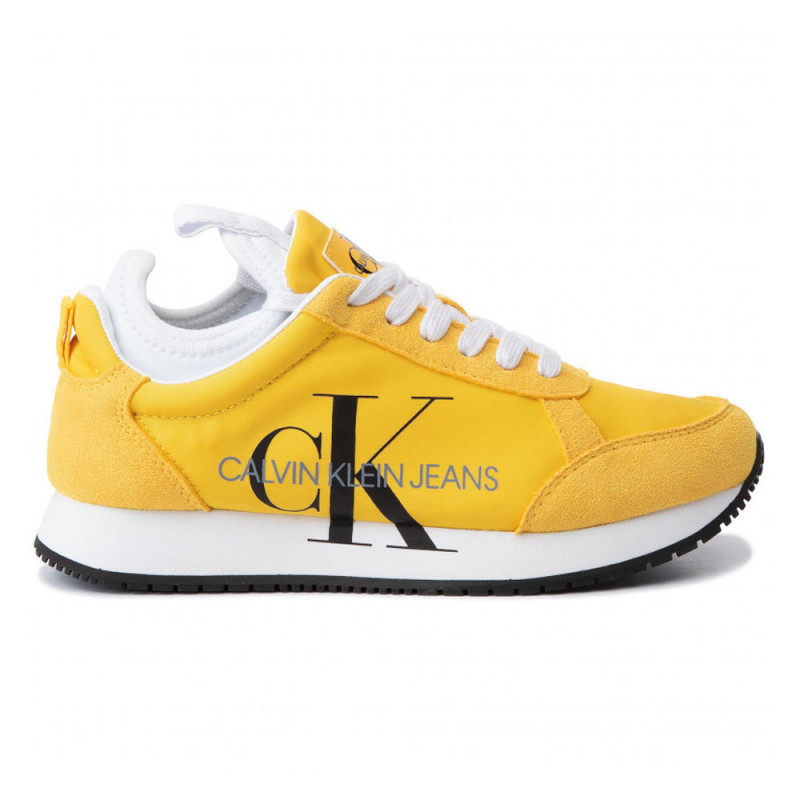 Baskets Calvin Klein JOSSLYN Jaune