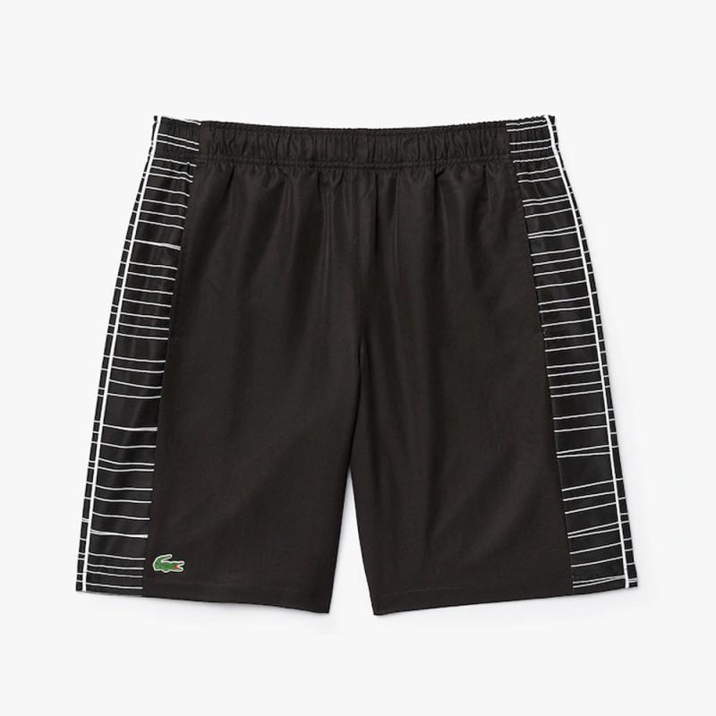 Short Tennis Lacoste SPORT avec bandes latérales imprimées