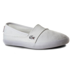Baskets Lacoste Maurice Slip On 216 1 SPW WHT Textile