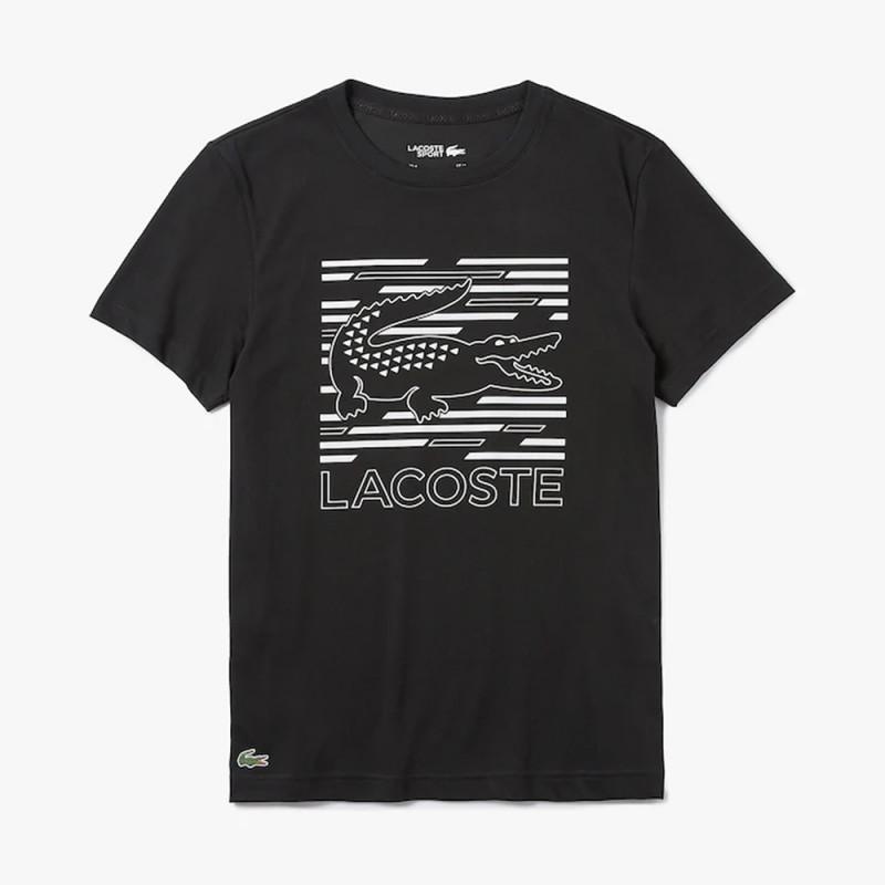 T-shirt Lacoste SPORT respirant imprimé croco
