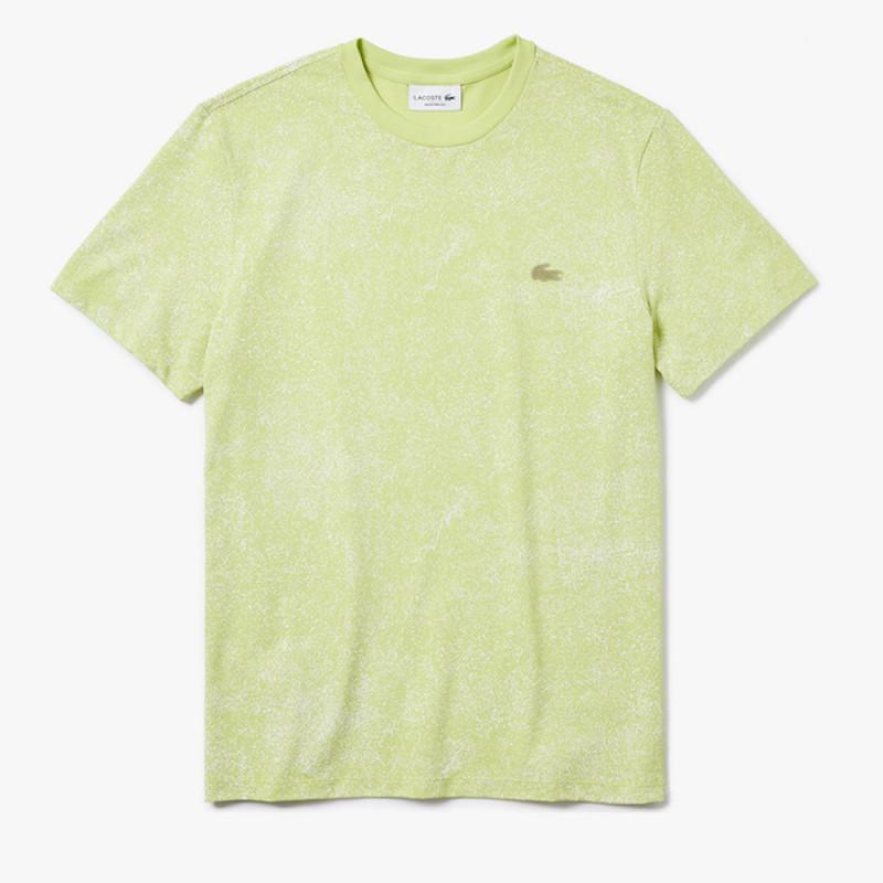 T-shirt Lacoste Motion à col rond en coton premium ultra léger