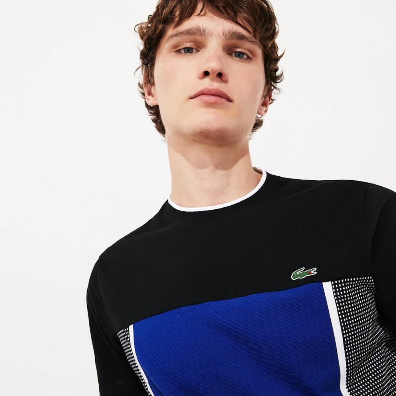 T-shirt Tennis Lacoste SPORT en maille ultra légère imprimée