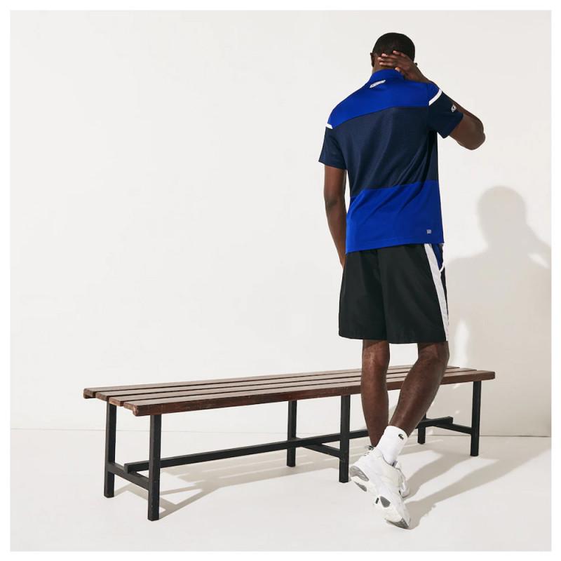 Polo Tennis Lacoste SPORT respirant avec empiècements effet mesh