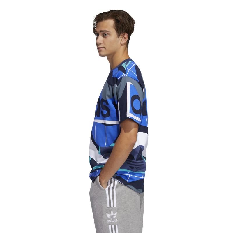 Tee-Shirt Adidas CATALOG PRINT TEE