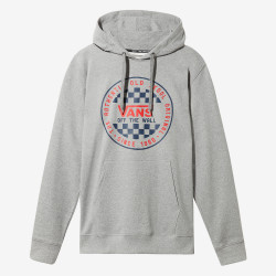 Sweat Vans à capuche OG Checker Gris