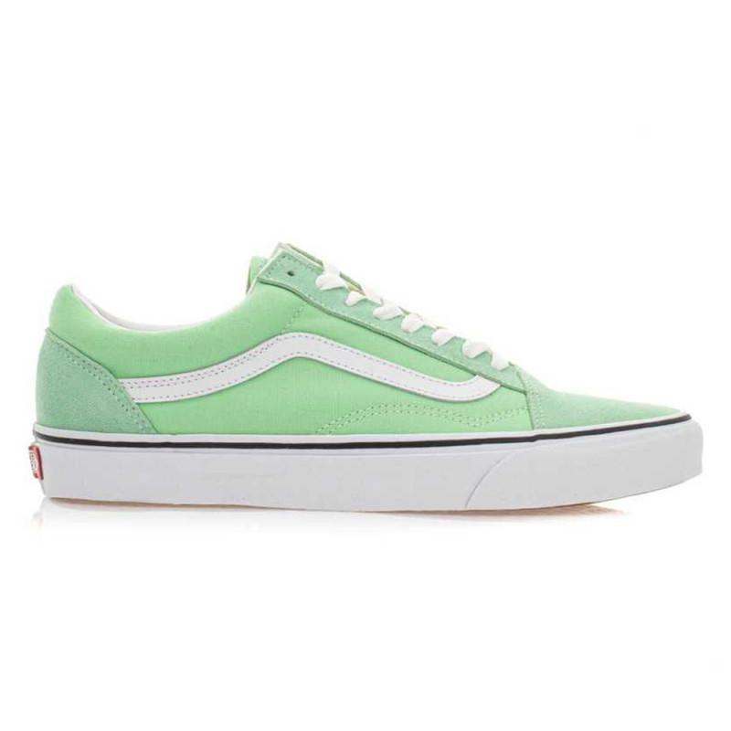 vans femme old skool vert