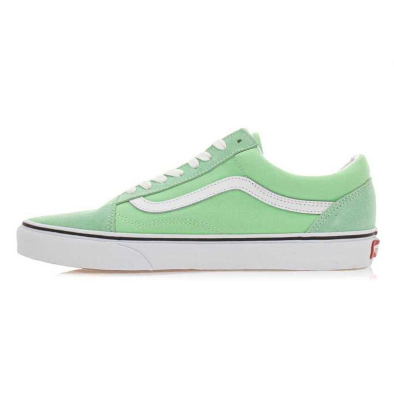vans vert femme