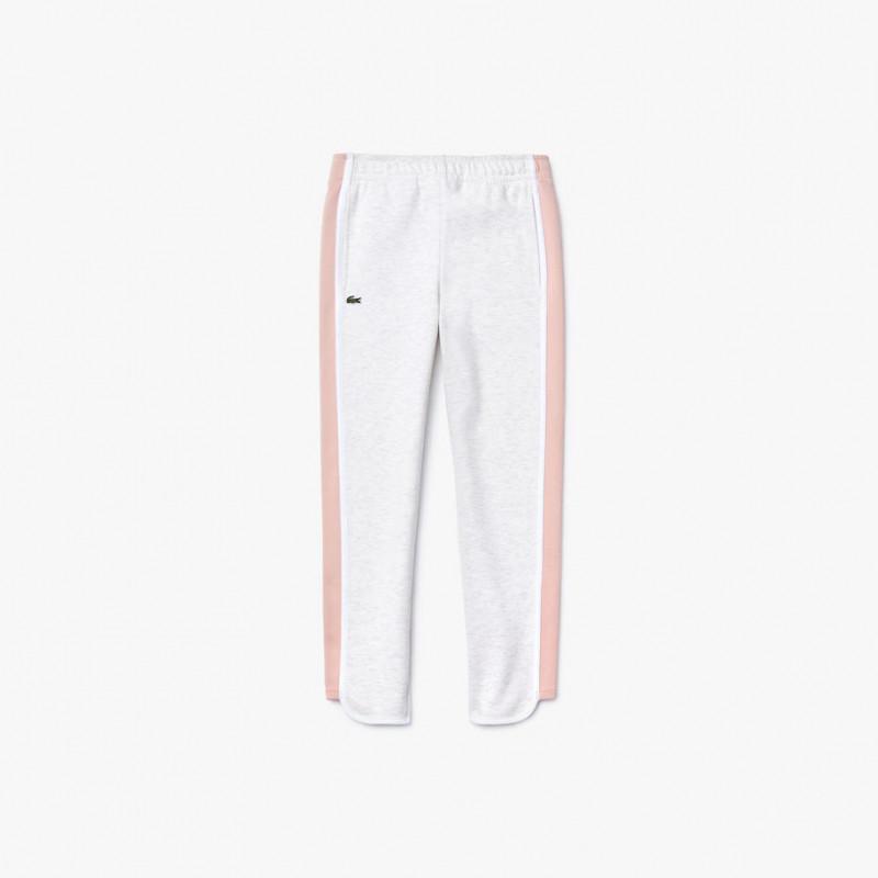 Pantalon de jogging Fille LACOSTE en coton mélangé XJ5032