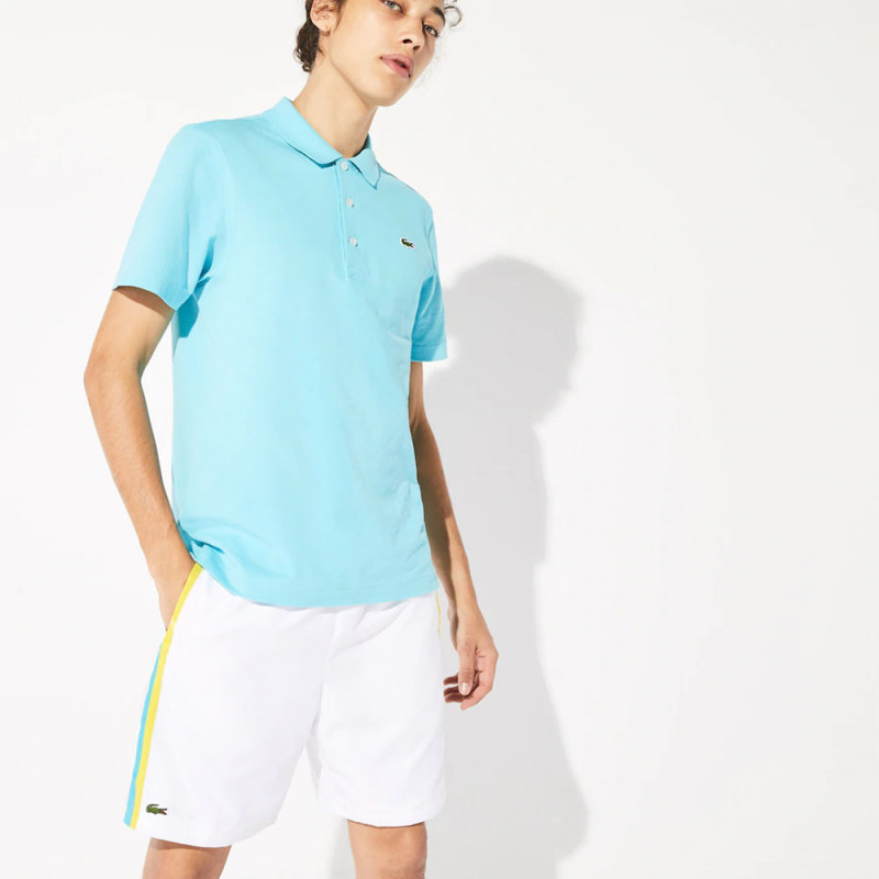 Short Tennis léger Lacoste SPORT à empiècements color-block