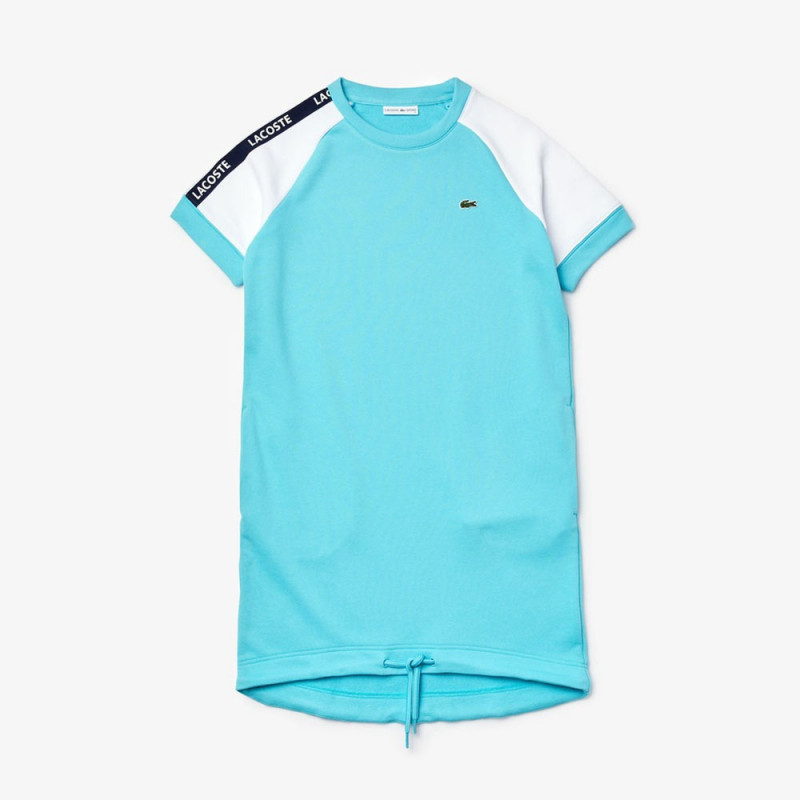 Robe Tennis Lacoste SPORT en molleton color-block