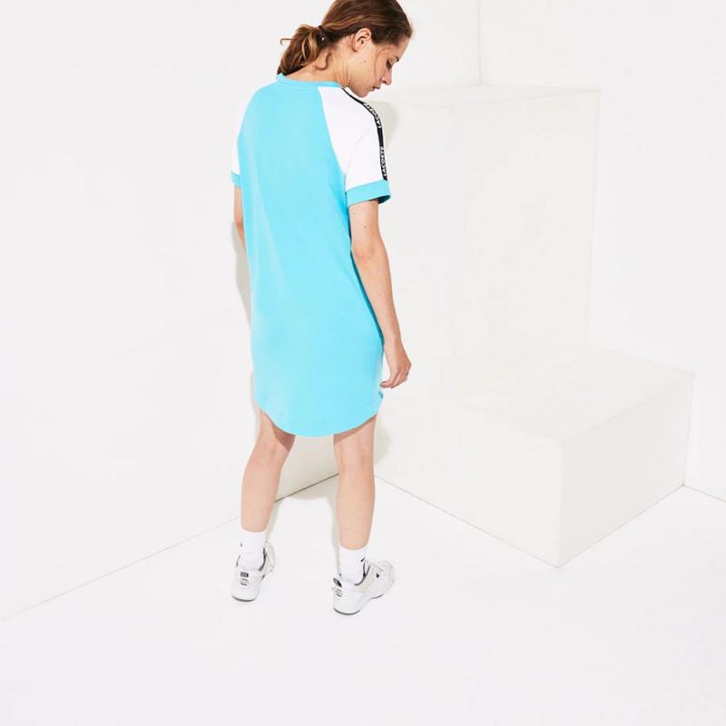 Robe Tennis Lacoste SPORT en molleton color-block