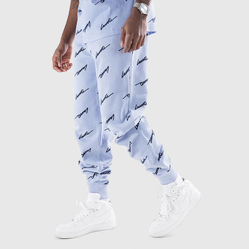 Pantalon de jogging Lacoste LIVE en molleton imprimé