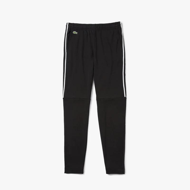 Jogging Lacoste SPORT en molleton avec bandes contrastées
