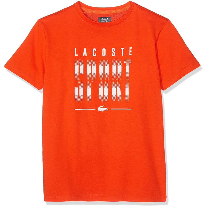 T-shirt Garçon Tennis Lacoste SPORT Orange