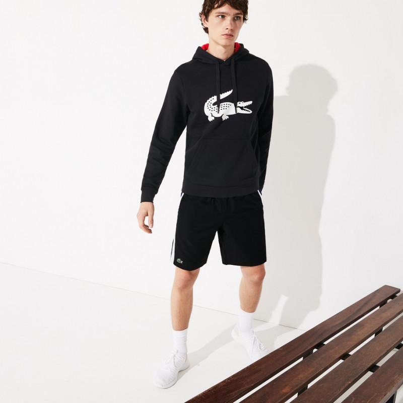 Sweatshirt à capuche Lacoste SPORT en molleton