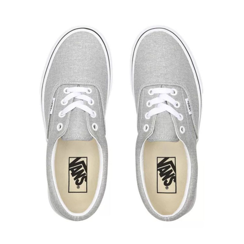 Baskets Vans ERA Silver/true white(gris paillettes)