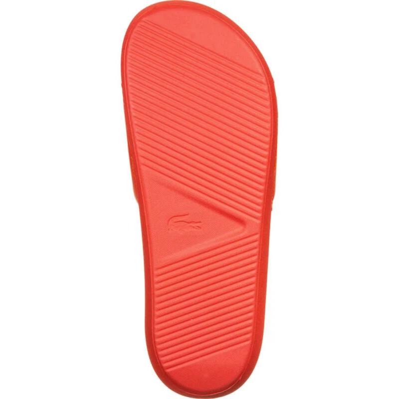 Claquettes Lacoste Croco Slide 120 2 US CMA Orange
