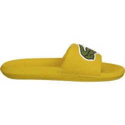 Claquettes Lacoste Croco Slide 120 2 US CMA Jaune