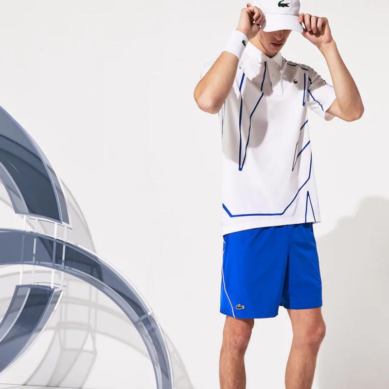 Short Lacoste SPORT x Novak Djokovic stretch et respirant