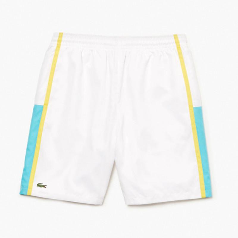 Short Tennis léger Lacoste SPORT à empiècements color-block