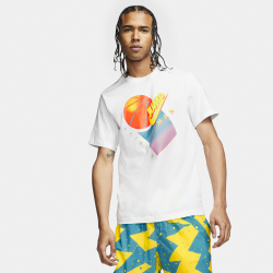 Tee-shirt Nike Jordan blanc