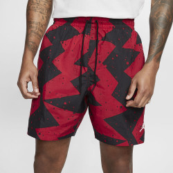 Short Nike Jordan Poolside noir/rouge