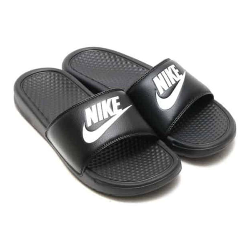 Claquettes Nike Benassi JDI Noir et Blanc
