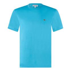 T-Shirt Lacoste en coton Bleu turquoise