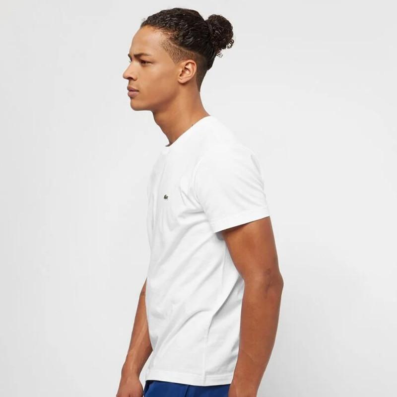 T-shirt en coton pima à col ras du cou pour homme 001