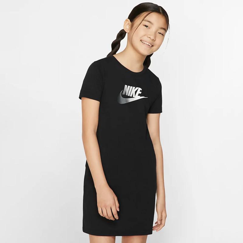 Robe Nike Sportswear Noir Fille