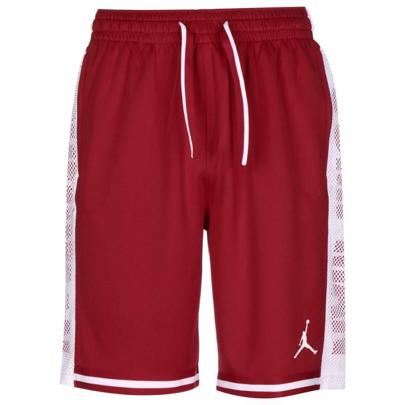 Short Rouge Nike Jordan JumpMan HBR Rouge et Blanc