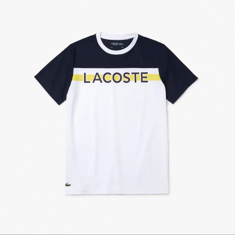 T-shirt imprimé Lacoste SPORT respirant French Capsule