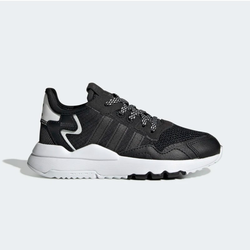 Baskets Adidas NITE Jogger C Black