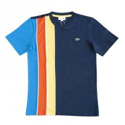T-shirt Lacoste SPORT en coton léger à empiècements color-block