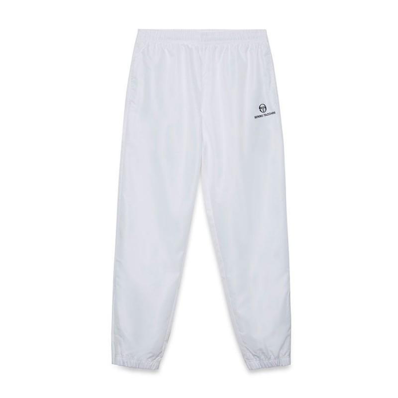 Pantalon de survêtement Sergio Tacchini Carson blanc