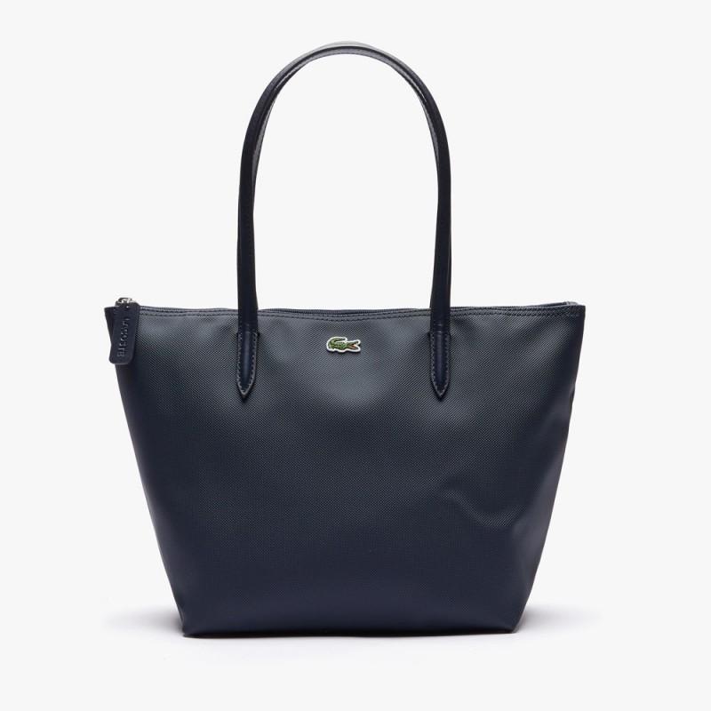 Petit sac cabas Lacoste zippé L.12.12 Concept uni Eclipse