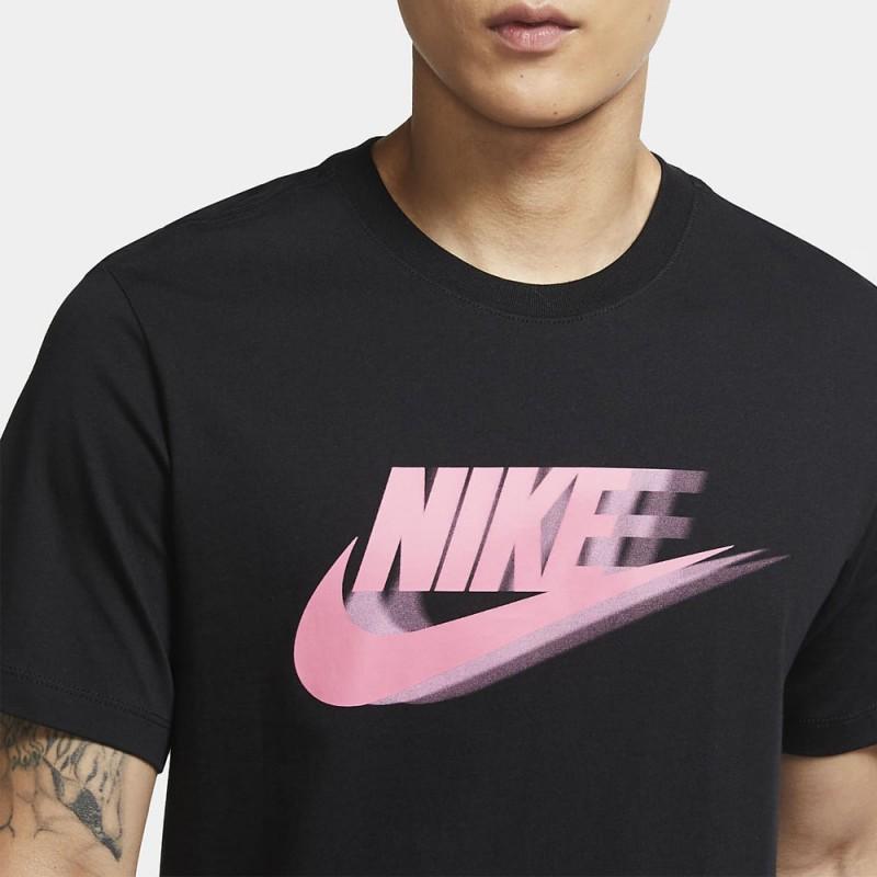 Tee-shirt Nike Sportwear noir et rose