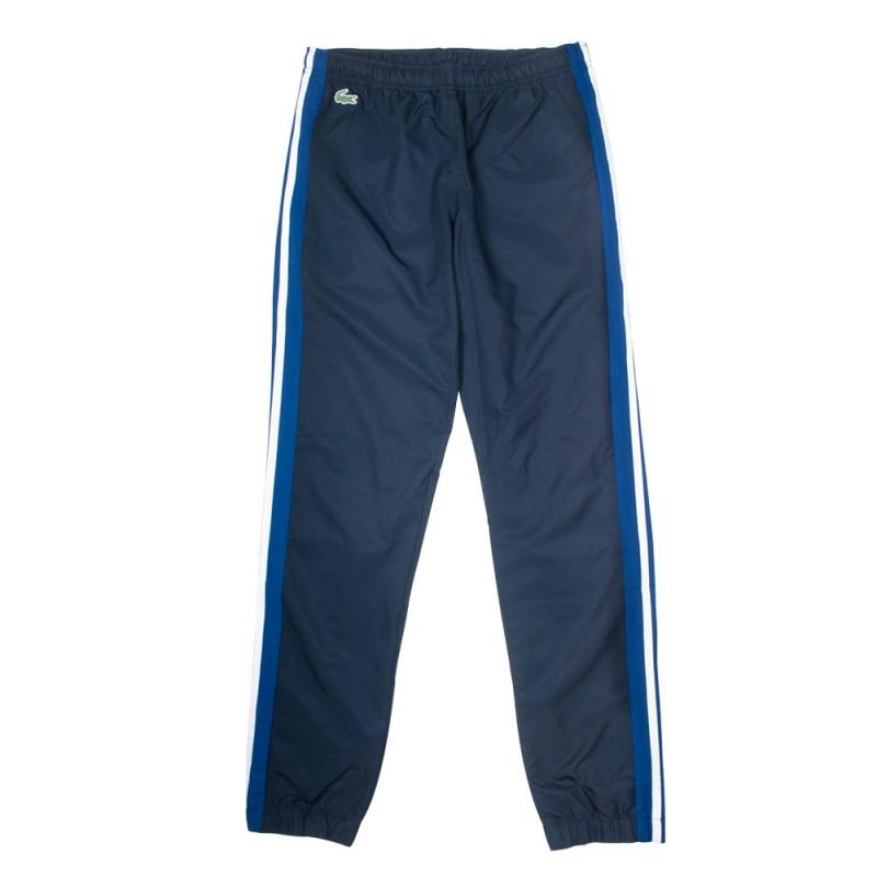 Pantalon de survêtement Lacoste SPORT léger à bandes contrastées