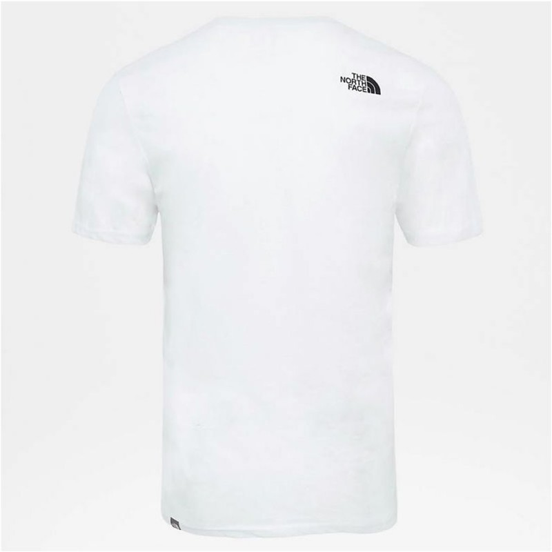 T-Shirt The North Face M s/s Easy Tee Blanc