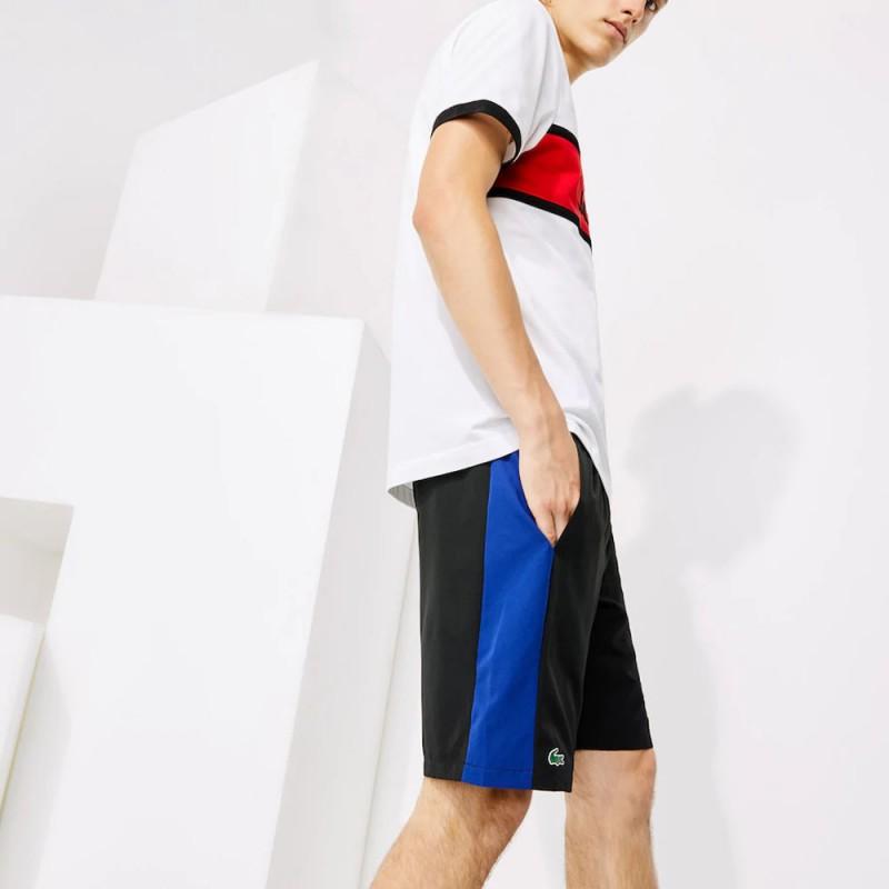 Short Tennis Lacoste SPORT léger avec bandes color-block