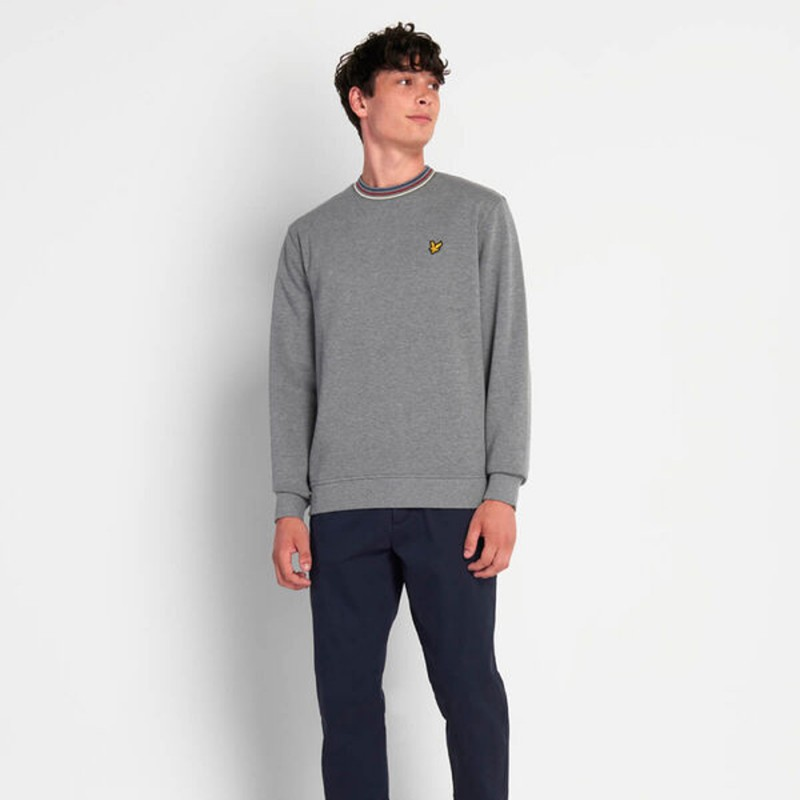 Sweat Piqué Lyle & Scott Gris