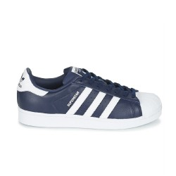 Baskets Adidas Superstar Marine/Blanc