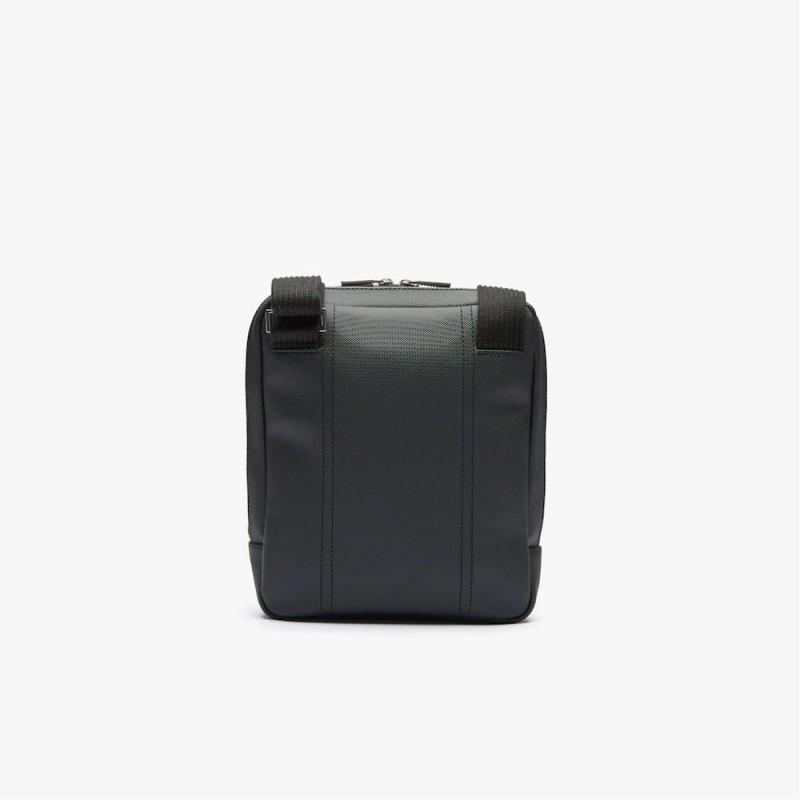 Sacoche Lacoste croisée rectangulaire Men's Classic à poches zippées