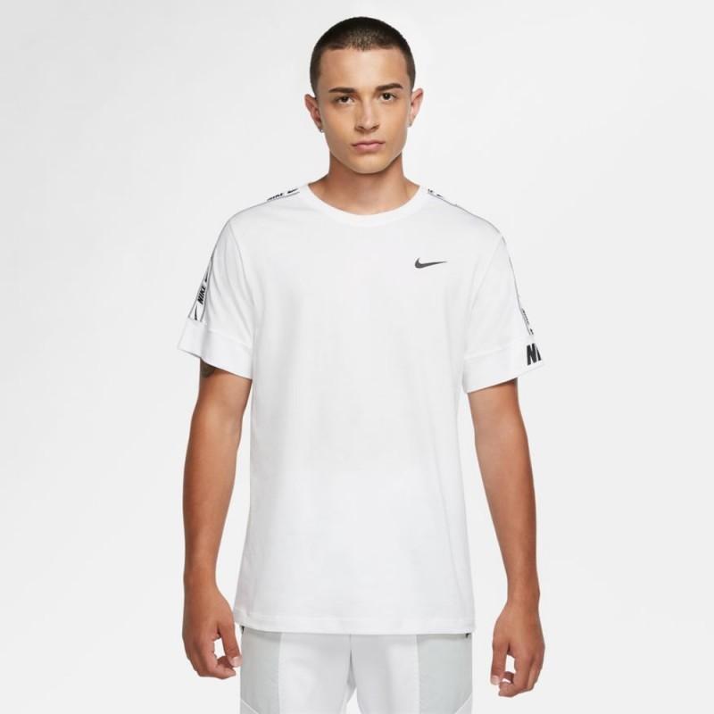 Tee-shirt pour Homme Nike Repeat Sportswear Blanc