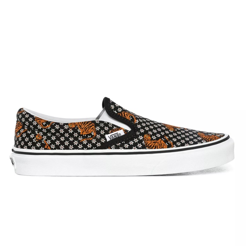Chaussures Vans Tiger Floral Classic Slip-On