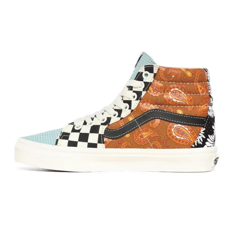 Chaussures Vans Tiger Patchwork Sk8-Hi